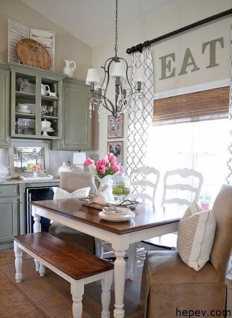 vintage-mobilya-yemek-odasi