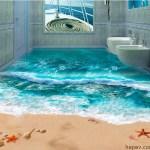 3D Banyo Dekorasyonları