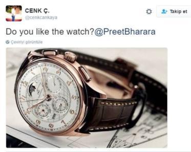 Saati sevdin mi?