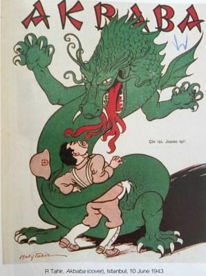 İkinci Dünya Savaşından Düşündürücü Karikatürler