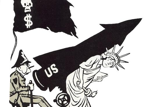2.Dünya Savaşı Sırasında Çizilmiş Karikatürler…