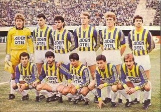 Rıdvan Dilmen, Oğuz Çetin, Schumacher, Aykut Kocaman. Fenerbahçe