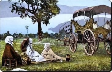 Eski Istanbul - Bogazici Piknik 1870 ler