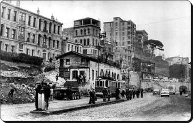 Eski Istanbul - Kabatas 1957