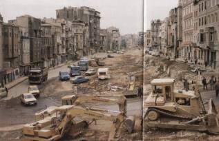 Eski Istanbul - Tarlabasi Bulvari 1986