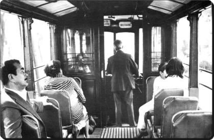 Eski Istanbul - Tramvay 1950 ler