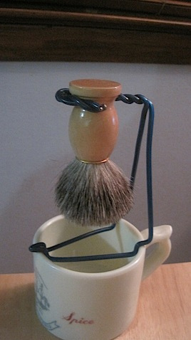 Shave brush stand