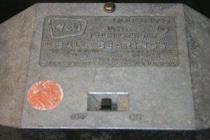 Bench grinder: Before