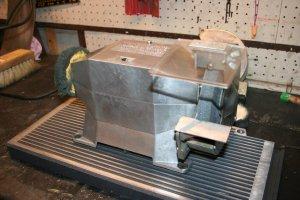 Bench grinder: After