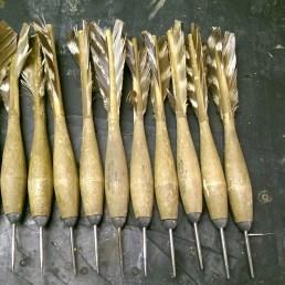Untouched widdies, wooden darts