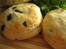 Garlicky Cream Cheese & Buttermilk Biscuits from sinfullyspicy.wordpress.com