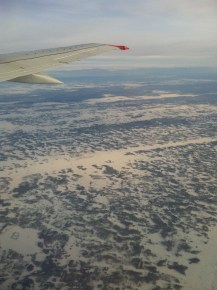 Russia seen from above