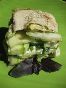 Kolokithoboureko or Greek Zucchini Cheese Pie from www.greek.ru