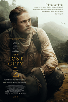 poster The Lost City of Z