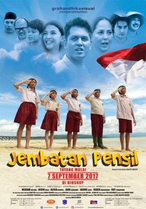 poster film jembatan pensil