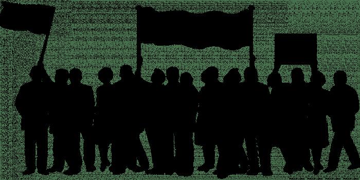 demonstrasi tolak omnibus law ilustrasi