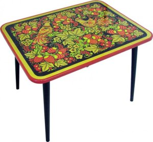 стол хохлома