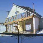 дом после взрыва