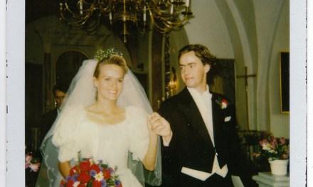 20-årig bröllopsdag