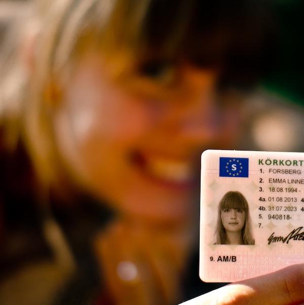 Grattis Emma till körkortet!