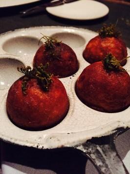 Æbleskiver med libbsticka