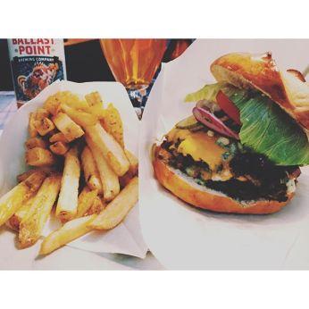 Surf shack burger