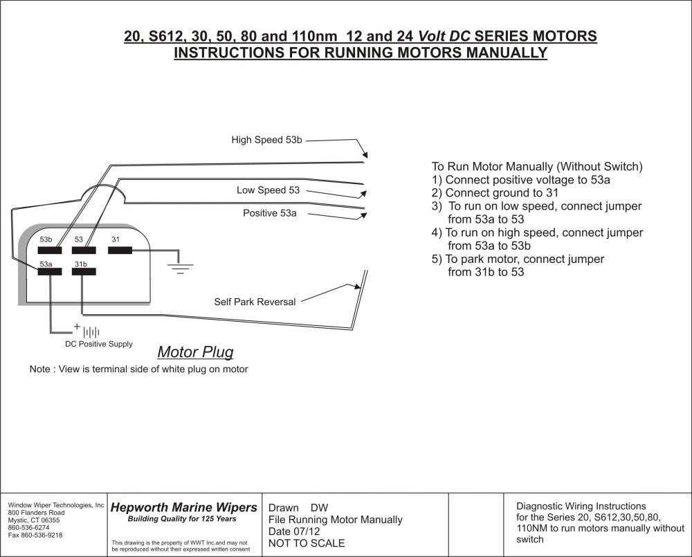 medium resolution of single speed wiper motor wiring diagram