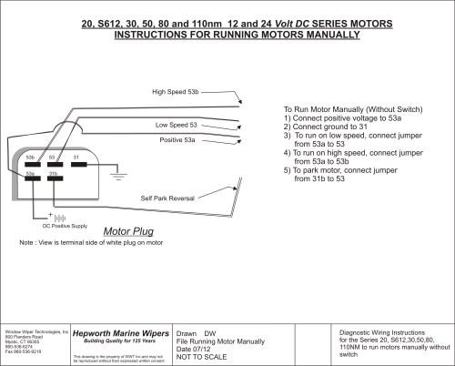 small resolution of single speed wiper motor wiring diagram