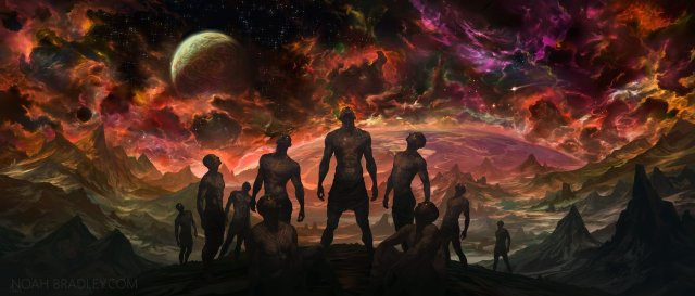 Our Grasp of Heaven, by Noah Bradley