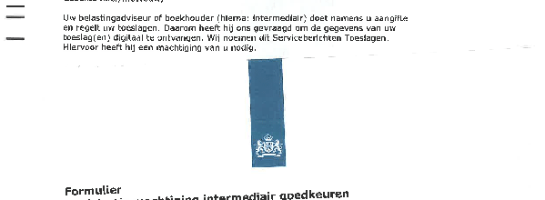 Registratie machtiging intermediair goedkeuren