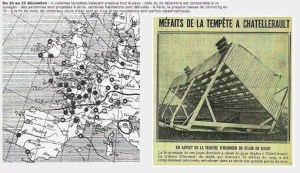 Tempête, 1925, Meteo France, Châtellerault