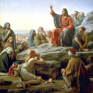 Jesus instructs his disciples