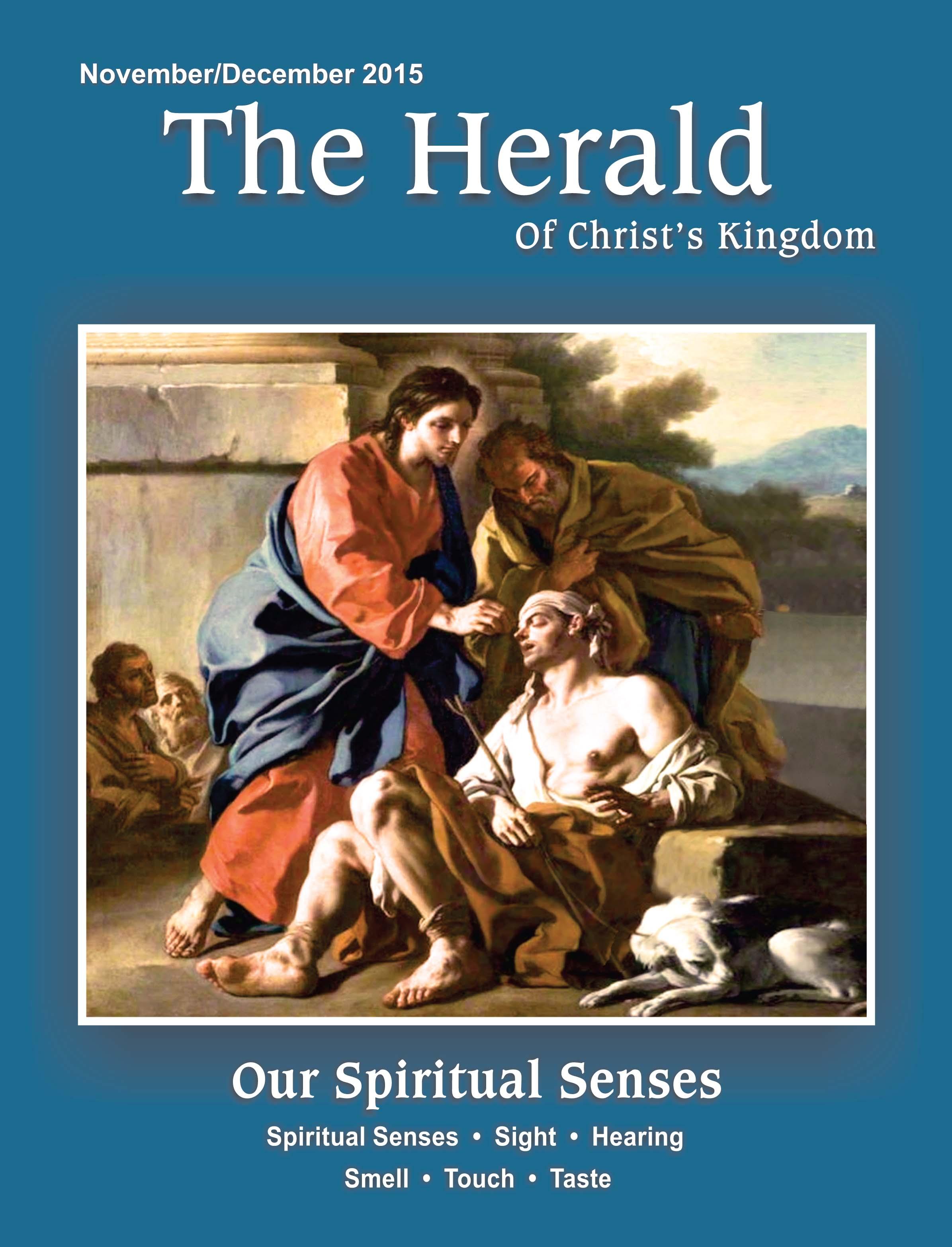 Our Spiritual Senses – The Herald
