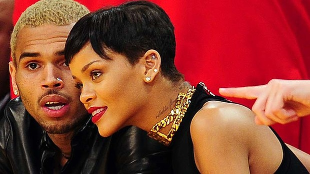 Rihanna Chris