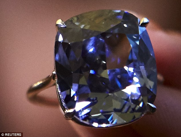 Rare Blue Moon Diamond Sells For 48m Becomes Most Expensive