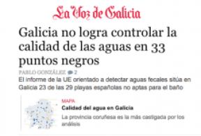 Informe UE playas La Voz de Galicia