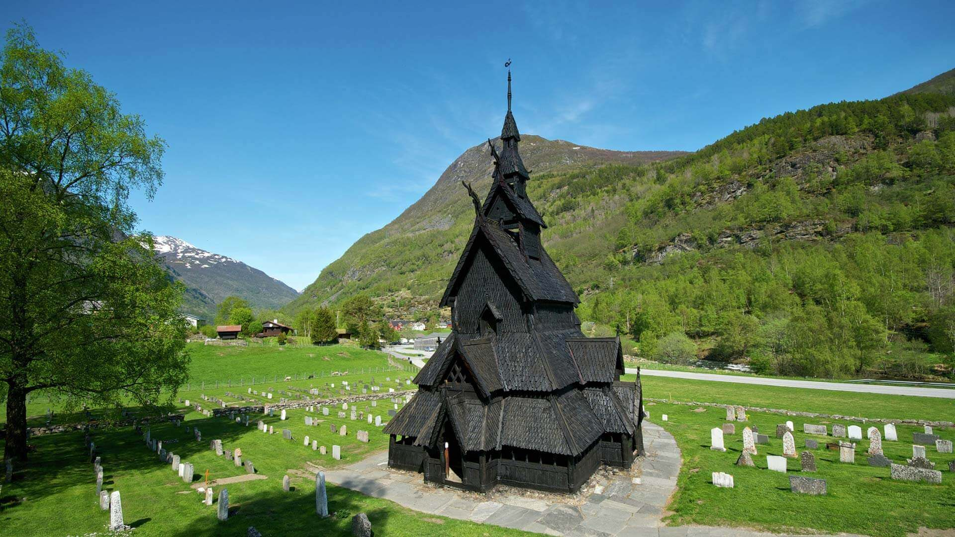 Wooden churches Norway  The Stave Churches
