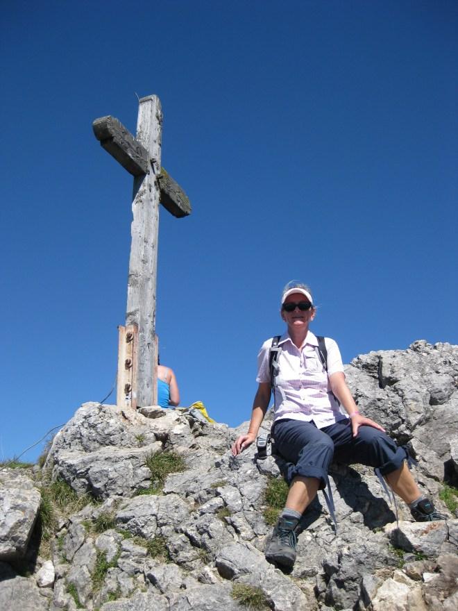 Gipfelkreuz Schafbergspitze