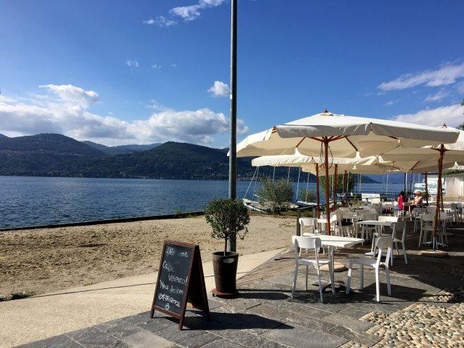 Strandcafe Ispra