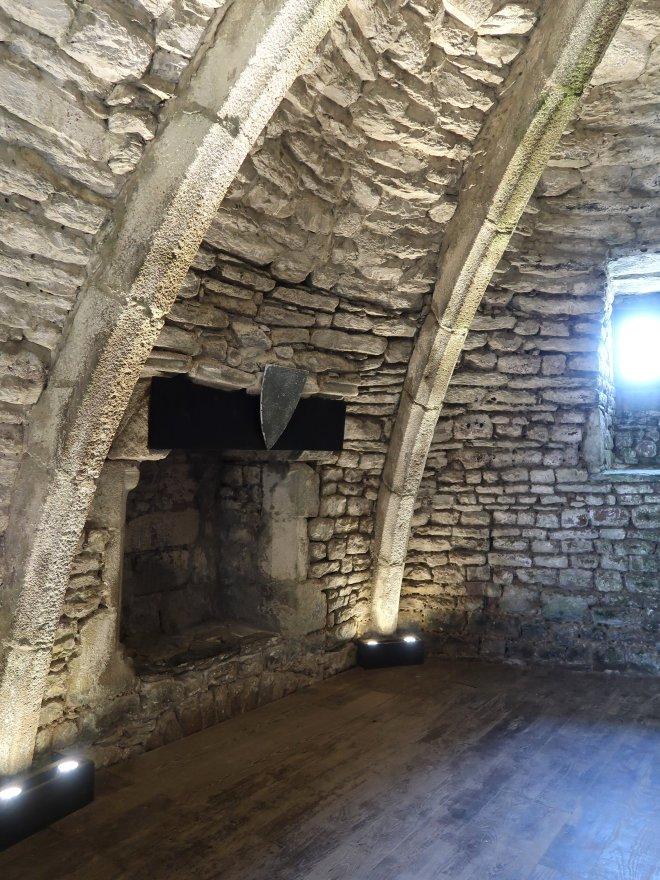 Gewölbe Fort La Latte Bretagne