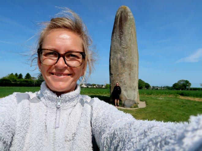 Menir in der Bretagne