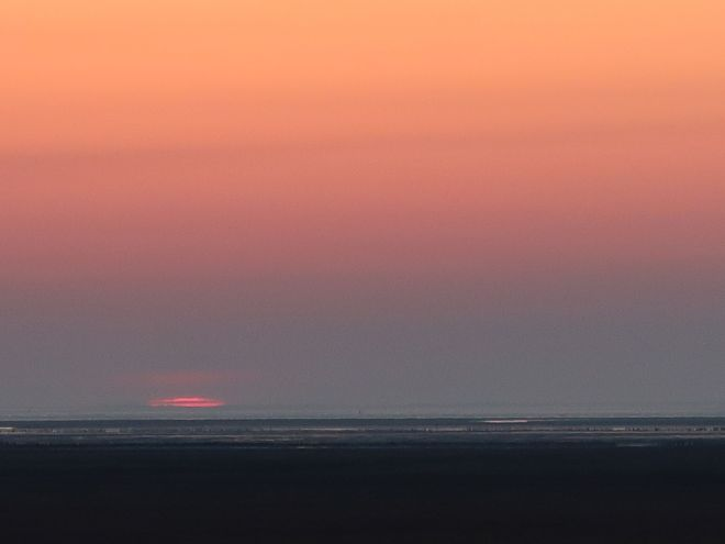 Noordpolderzyl - Sonnenuntergang