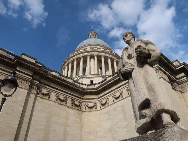 Pantheon mit Rousseau