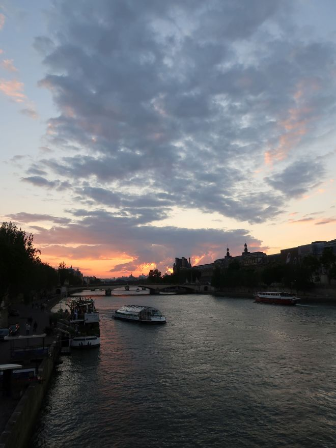 Sonnenuntergang Paris
