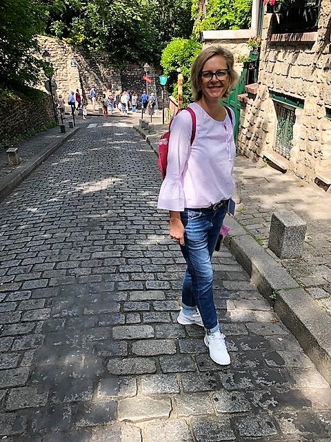 Bergab in Montmartre