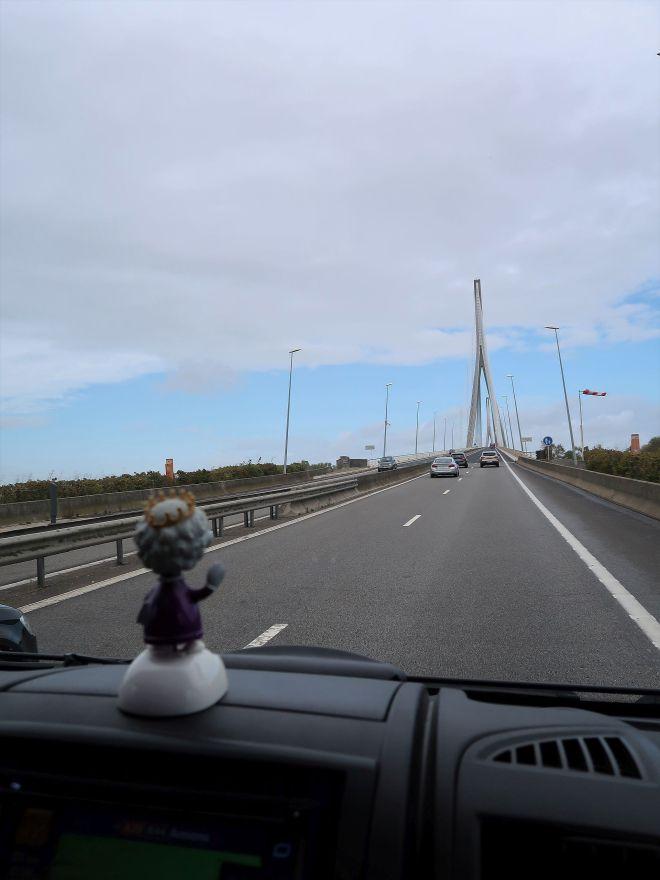 Pont de Normandie Pylone