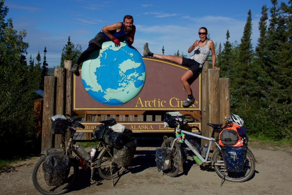 On day three we arrived at the artic circle