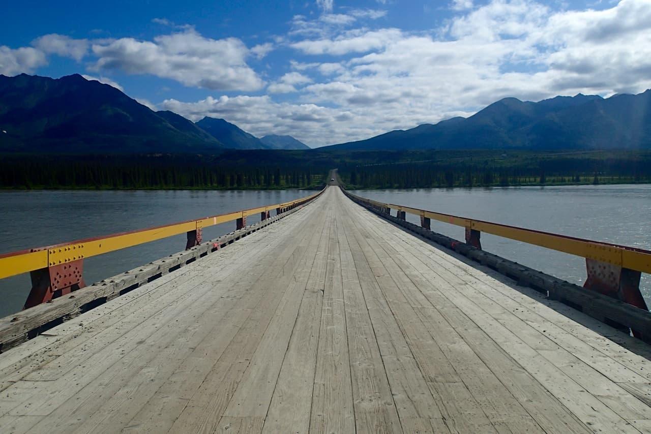 De enige brug op de Denali highway