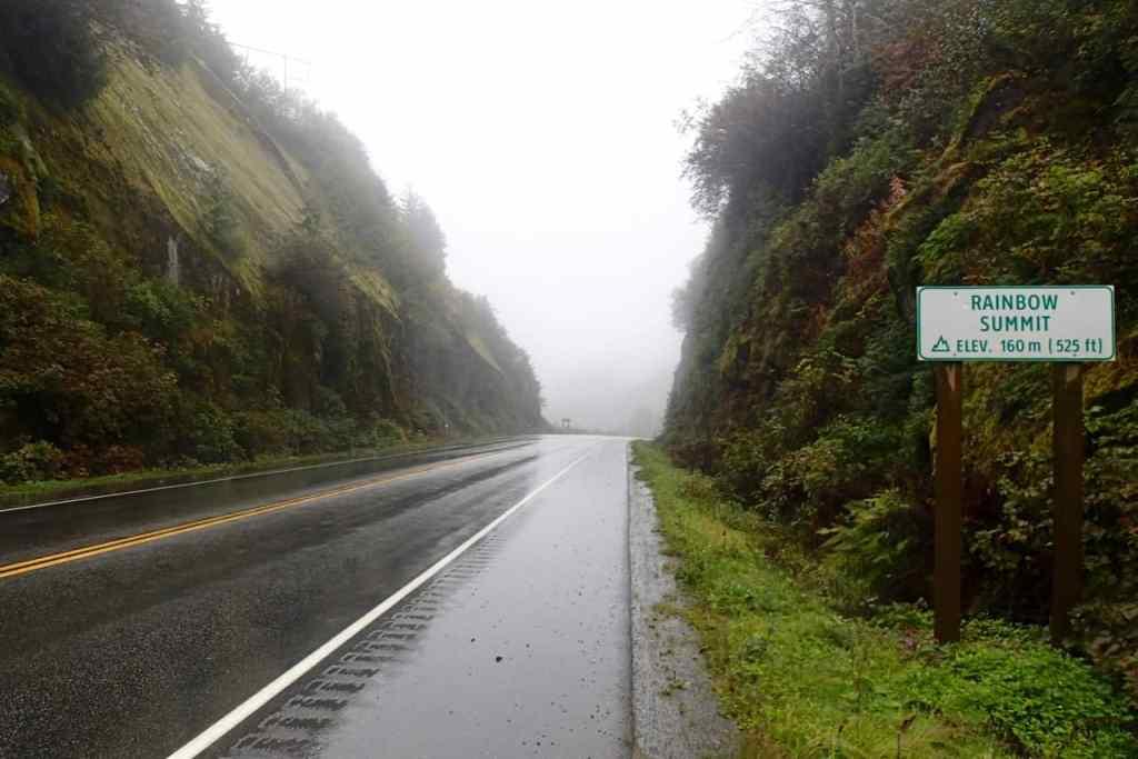 Rain(bow) summit net buiten Prince Rupert