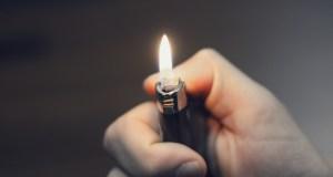 Lighter in Hand
